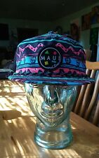 *NEW* MAUI AND SONS FLIP UP GNARLY SNAPBACK HAT ADJUSTABLE CAP UNISEX ONE SIZE