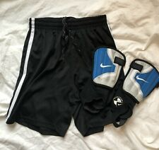 Nike Shin Guards (Xs) & Soccer Shorts Set, Youth Size L, Excellent!