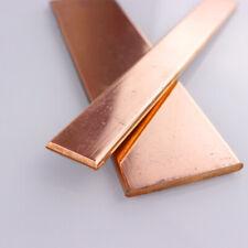 1 Stück 99,9% Reines Kupfer T2 Cu Flache Metallstange Band Platte Dicke 1,5-12mm