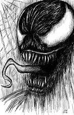 Venom Spiderman 11 x 17 High Quality Poster