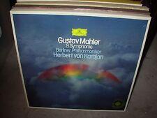 KARAJAN / MAHLER 9 symphonie ( classical ) 2 lp box dgg