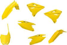 Polisport Restyled Plastics Kit Yellow #90868 for Suzuki Rm250/Rm125 (Fits: Suzuki)