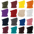 Face Covering Mask Bandana Seamless Snood Tube Scarf Neck Sport Cover UK