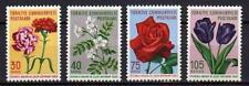 A7519) TURKEY 1960 Scott# 1480/83 MNH** Flowers