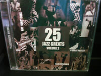 25 JAZZ GREATS VOLUME 2 (CD) VARIOUS ARTISTS WORLDWIDE SHIPPING AVAILABLE!