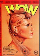 WOW anno 3° N°22 Fanzine di fumetti,fantascienza,cinema con FIGURINA ALLEGATA