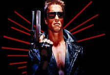 More details for the terminator arnold schwarzenegger 1984 large canvas picture wall art