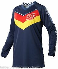 TROY LEE DESIGNS TLD - MOTOCROSS MX - GP JERSEY - AIRWAY NAVY - WOMEN - ADULT: L