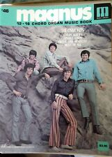 Magnus 12-16 Chord Organ Music book #46 The Osmonds