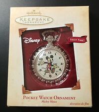 Vintage Hallmark Keepsake Mickey Mouse Character Pocket Watch Lot MIB