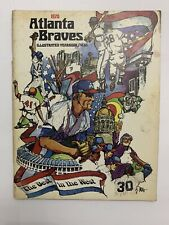 1970 Atlanta Braves Official Illustrated Yearbook - The  Best In The West