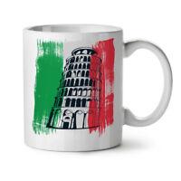Italy NEW White Tea Coffee Mug 11 oz | Wellcoda
