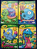 LOT of 4 CRAYOLA Jumbo Coloring & Activity Books Sea Animals Dinosaurs NEW