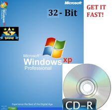 Windows XP 32-bit Profesional SP3 y genuino licencia Pro clave para activar + Pc
