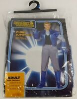 Bravest Warriors Chris Jumpsuit Adult Size Costume Cosplay Dress Up Size XL New