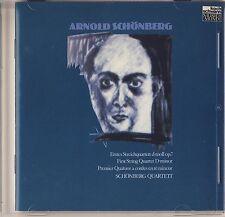 Schonberg - Schonberg Quartet: 1st String Quartet in D Minor (Koch) Like New