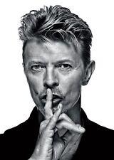 David Bowie Inspired Band UK Song Music Bedroom Wall Door Metal Vintage SIGN