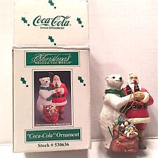 HOUSE OF LLOYD CHRISTMAS AROUND THE WORLD COCA COLA ORNAMENT 1995   # 530636