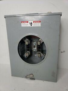 Talon Single Position Meter Socket - 600v 200a Single Phase - Type 3R Enclosure