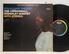 Cannonball  Adderley        Great love themes        Capitol       NM # 62