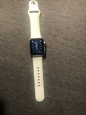 Apple Watch Series 1 38mm Aluminum Case White Sport Band