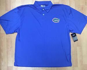 NCAA Florida Gators Men's 2XL Golf Polo Shirt Made by Russell