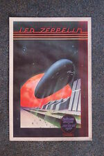 Led Zepplin tour poster  Oakland  1977