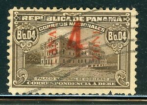 CANAL ZONE Used Postage Due Selections: Scott #J11 4c/4c SCHG Olive Brn CV$12+