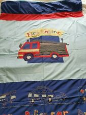 NEXT Embroidered FIRE RESCUE Single duvet cover & pillow case