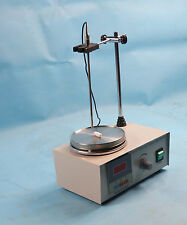IntBuying Magnetic Stirrer with Heating Plate Digital Hotplate Mixer Bar 1L 110V