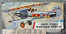 Airfix 1:72 Hawker Demon Royal Air Force. Kit Nr. 0132. Collector's item.