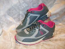 BABY PHAT WOMENS SIZE 7 ATHLETIC SHOES GREY PINK