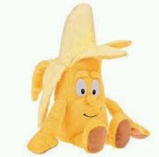 Peluche banana vitamini coop goodness gang fruit plush soft toys naturotti