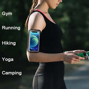 Galaxy S21 S20 Note20 Series Phone Holder Sports ArmBand Strap Gym Pouch Key Bag