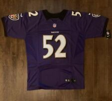Ray Lewis Baltimore Ravens Mens On Field Jersey Size 52 Free Ship (I)