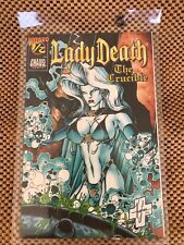 Lady Death The Crucible #1/2 Chaos Comics Mint With Wizard COA