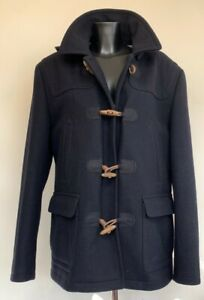 (SHP) Black Ted Baker Mens Duffel Coat Ted size 5 (XL)