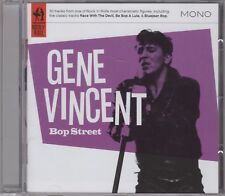 """Gene Vincent """"Bop Street"""" NEW CD - 30 Mono Tracks - 1st Class Post From The UK"""