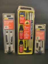 Outers Gun Cleaning Lot: Cleaning Kit All Gauges, Pistol, Rifle Cleaning Rods