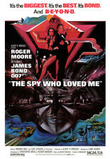 The Spy that loved me 35mm Film Cell strip very Rare var_w