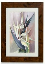 White Bird Of Paradise Framed Print By Georgia O'Keeffe