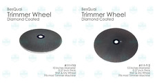 """BesQual Dental Lab Diamond Coated Model Trimmer Wheel (10"""" or 12"""") Fast & Smooth"""