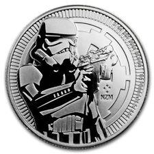 Niue 2 $ Star Wars Stormtrooper 2018 1 oz 999 Silber Silbermünze Bu in Kapsel