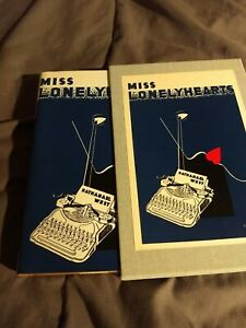 Miss Lonelyhearts, Nathanael West ~ Facsimile of 1933 First Edition SUPER NICE!!