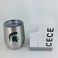 CECE 12 oz. Stainless Steel Branded Wine Tumbler Michigan State Spartan MSU