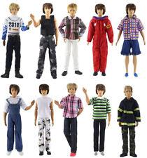 Lot 8 PCS Fashion Outfits/Clothes/Uniform For Barbie's boy friend Ken Doll