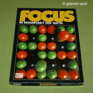 Focus - Komplett 1A Top! Taktik-Spiel des Jahres 1981 Sid Sackson Parker ©1980