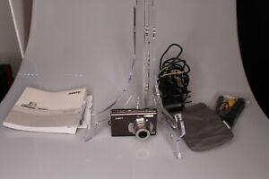 Sanyo VPC T700 7.0MP Digital Camera - Black