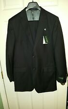 POLO Ralph Lauren Men's Suit -   39Long  33W - Black- 100% Wool - NWT