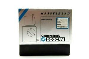 Hasselblad 500C/M Chrome Camera Body Box Only (10022) #B1036